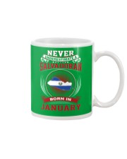 SALVADORAN-NEVER-UNDERESTIMATE-BORN-IN-JANUARY Mug thumbnail