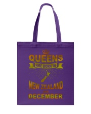 NEWZEALAND-GOLD-QUEES-DECEMBER Tote Bag thumbnail