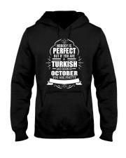 TURKISH-YOU-PERFECT-OCTOBER Hooded Sweatshirt front