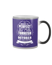 TURKISH-YOU-PERFECT-OCTOBER Color Changing Mug tile