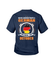 GERMAN-OCTOBER-NEVER-UNDERESTIMATE Youth T-Shirt thumbnail