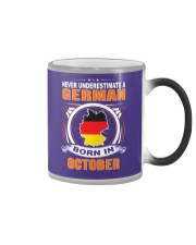 GERMAN-OCTOBER-NEVER-UNDERESTIMATE Color Changing Mug thumbnail