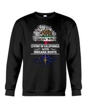 CALIFORNIA WITH INDIANA SHIRTS Crewneck Sweatshirt thumbnail