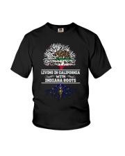 CALIFORNIA WITH INDIANA SHIRTS Youth T-Shirt thumbnail