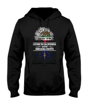 CALIFORNIA WITH INDIANA SHIRTS Hooded Sweatshirt thumbnail
