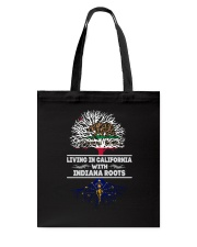 CALIFORNIA WITH INDIANA SHIRTS Tote Bag thumbnail
