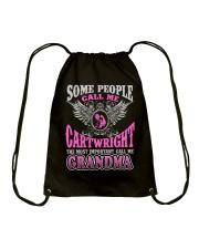 CALL ME CARTWRIGHT GRANDMA THING SHIRTS Drawstring Bag thumbnail