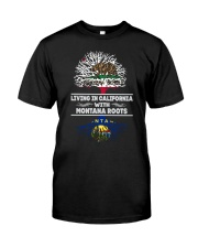 CALIFORNIA WITH MONTANA SHIRTS Classic T-Shirt thumbnail