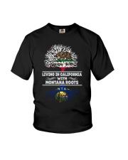 CALIFORNIA WITH MONTANA SHIRTS Youth T-Shirt thumbnail