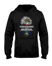 CALIFORNIA WITH MONTANA SHIRTS Hooded Sweatshirt thumbnail