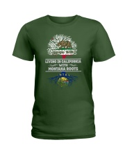 CALIFORNIA WITH MONTANA SHIRTS Ladies T-Shirt front