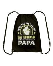 CALL ME GAS TECHNICIAN PAPA JOB SHIRTS Drawstring Bag thumbnail