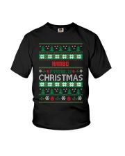 RAMBO FAMILY CHRISTMAS THING SHIRTS Youth T-Shirt thumbnail