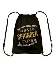 IT IS SPRINGER THING COOL SHIRTS Drawstring Bag thumbnail