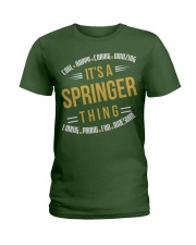 IT IS SPRINGER THING COOL SHIRTS Ladies T-Shirt front