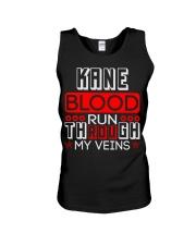 KANE Blood Run Through My Veins Unisex Tank thumbnail
