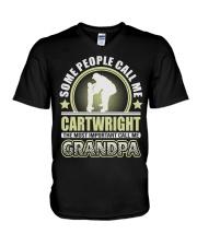 CALL ME CARTWRIGHT GRANDPA THING SHIRTS V-Neck T-Shirt thumbnail