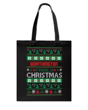WORTHINGTON FAMILY CHRISTMAS THING SHIRTS Tote Bag thumbnail