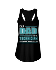 DAD AND TECHNICIAN JOB SHIRTS Ladies Flowy Tank thumbnail