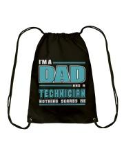 DAD AND TECHNICIAN JOB SHIRTS Drawstring Bag thumbnail