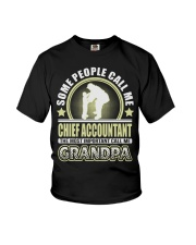 CALL ME CHIEF ACCOUNTANT GRANDPA JOB SHIRTS Youth T-Shirt thumbnail