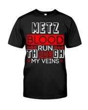 METZ Blood Run Through My Veins Classic T-Shirt thumbnail