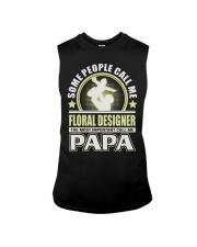 CALL ME FLORAL DESIGNER PAPA JOB SHIRTS Sleeveless Tee thumbnail