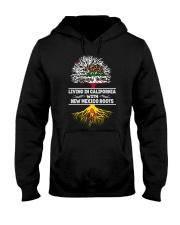 CALIFORNIA WITH NEW MEXICO SHIRTS Hooded Sweatshirt thumbnail