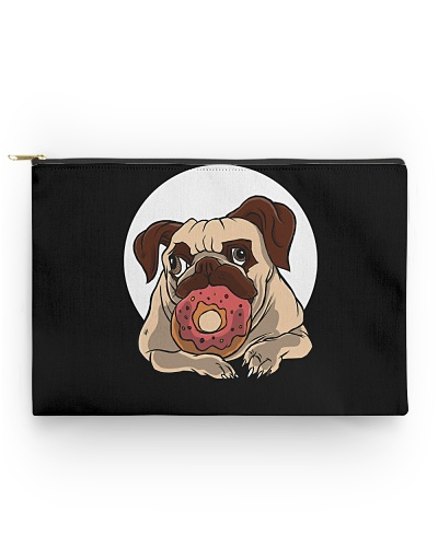 DOG WITH DONUT