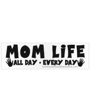 Mom Life Bumper Sticker thumbnail