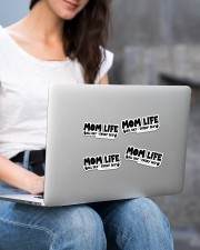 Mom Life Sticker - 4 pack (Horizontal) aos-sticker-4-pack-horizontal-lifestyle-front-15