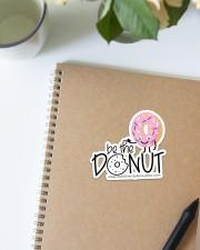 Be The Donut Sticker - Single (Horizontal) aos-sticker-single-horizontal-lifestyle-front-14