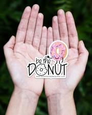Be The Donut Sticker - Single (Horizontal) aos-sticker-single-horizontal-lifestyle-front-20