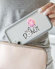 Be The Donut Sticker - Single (Horizontal) aos-sticker-single-horizontal-lifestyle-front-23