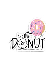 Be The Donut Sticker - Single (Horizontal) front