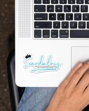 Scandalous Sticker - Single (Horizontal) aos-sticker-single-horizontal-lifestyle-front-11