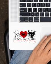 Peace-Love-Mafia Sticker - Single (Horizontal) aos-sticker-single-horizontal-lifestyle-front-11
