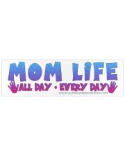 Mom Life Bumper Sticker tile
