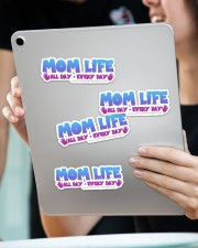 Mom Life Sticker - 4 pack (Horizontal) aos-sticker-4-pack-horizontal-lifestyle-front-11