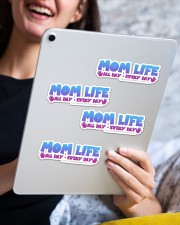 Mom Life Sticker - 4 pack (Horizontal) aos-sticker-4-pack-horizontal-lifestyle-front-13