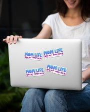 Mom Life Sticker - 4 pack (Horizontal) aos-sticker-4-pack-horizontal-lifestyle-front-14