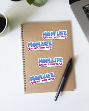 Mom Life Sticker - 4 pack (Horizontal) aos-sticker-4-pack-horizontal-lifestyle-front-29a