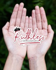 Ruthless Sticker - Single (Horizontal) aos-sticker-single-horizontal-lifestyle-front-20