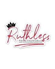 Ruthless Sticker - Single (Horizontal) front