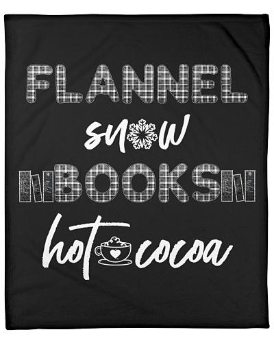 Black: Flannel - Snow - Books - Hot Cocoa