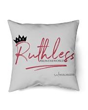 """Ruthless Indoor Pillow - 16"""" x 16"""" thumbnail"""