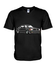 Mercedes W126 Sec V-Neck T-Shirt thumbnail