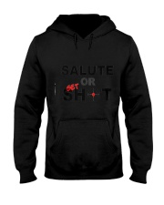 Salute Or Shot Hooded Sweatshirt tile