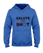 Salute Or Shot Hooded Sweatshirt front