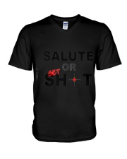 Salute Or Shot V-Neck T-Shirt tile